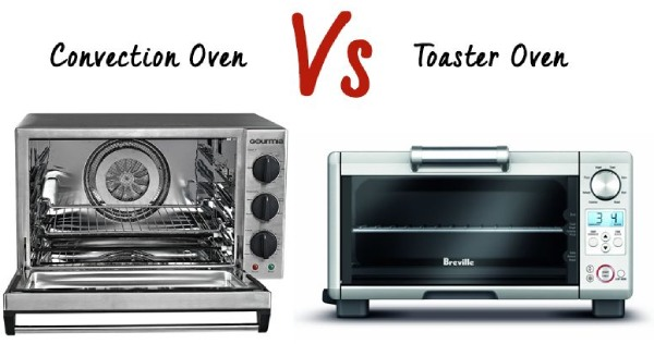 Convection Oven vs Toaster Oven